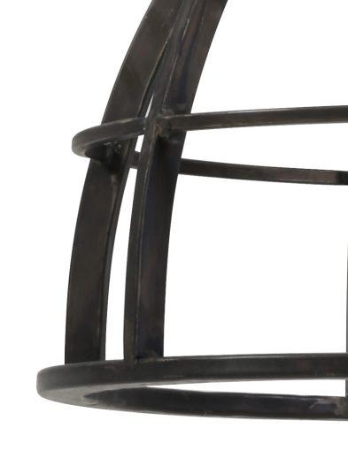 Schwarze-Hängelampe-mit-grobem-Aufsatz-2006ZW-2