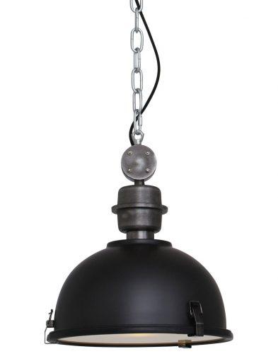 Schwarze Industrie Hängeleuchte-7978ZW