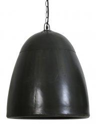 Schwarze Lampe in Kugelform-2002ZW