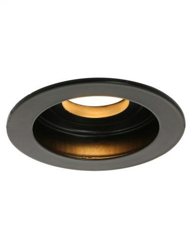 Schwarze Spot aus Stahl-1732ZW