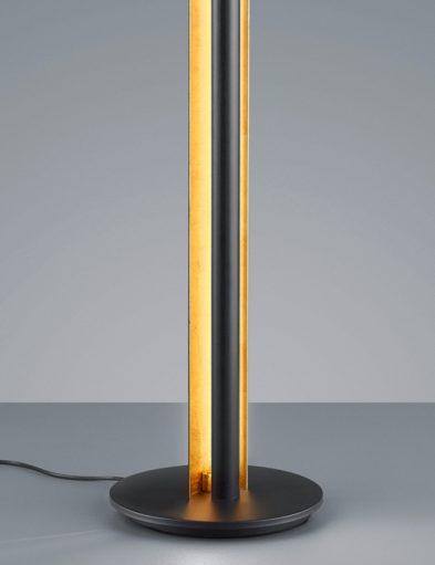 Schwarze-Stehleuchte-mit-Goldenem-Interieur-1823ZW-1