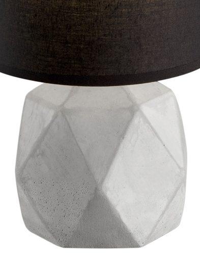 Schwarze-Tischlampe-mit-Grauem-Fuß-1844GR-3