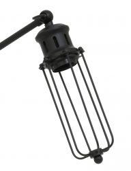 Schwarze-Tischlampe-mit-Käfigabdeckung-1937ZW-1