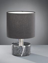 Schwarze-Tischlampe-mit-Marmorsockel-1853ZW-1