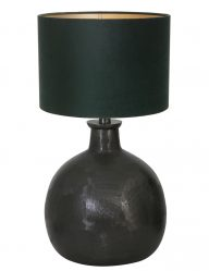 Schwarze Tischleuchte-9260ZW