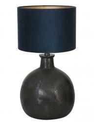 Schwarze Tischleuchte-9261ZW