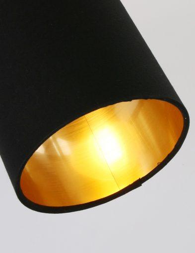 Schwarze-Wandlampe-mit-Goldener-Innenseite-1652ZW-3
