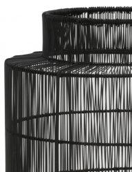 Schwarze-runde-Tischleuchte-Draht-1935ZW-1