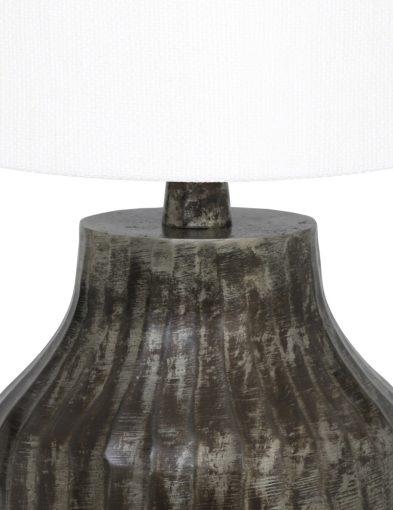 Schwarzen-Tischlampe-mit-Weiße-Schirm-9292ZW-1