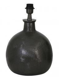 Schwarzer industrieller Lampensockel-2065ZW