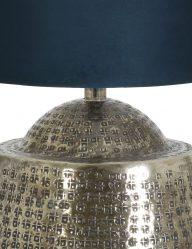 Silberfarben-Tischlampe-mit-Grüne-schirm-9977ZI-1