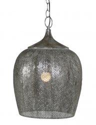 Silberne Hängeleuchte-1691ZI