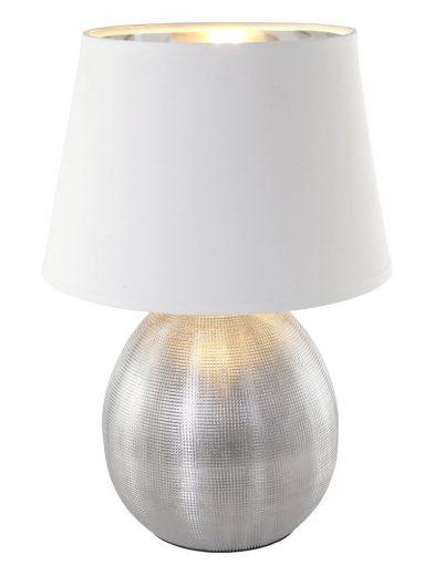 Silberne Lampe-1635ZI