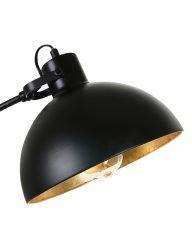 Sphärische-Stehleuchte-Schwarz-Gold-1631ZW-1