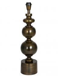 Sphärischer Lampensockel Bronze glänzend-2068BR