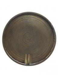 Spiral-Wandleuchte Antik Bronze-1746BR