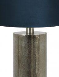 Stabförmig-Tischleuchte-mit-Blaue-Schirm-9297ZW-1