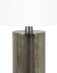 Stabförmig-Tischleuchte-mit-Weiße-Schirm-9298ZW-1