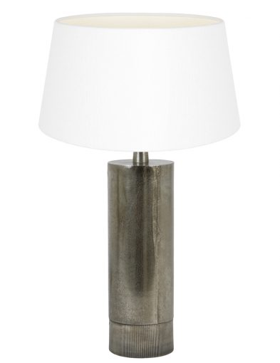Stabförmig Tischleuchte mit Weiße Schirm-9298ZW