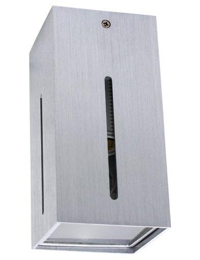 Stilvolle-Wandleuchte-LED-Stahlfarben-1463ST-1