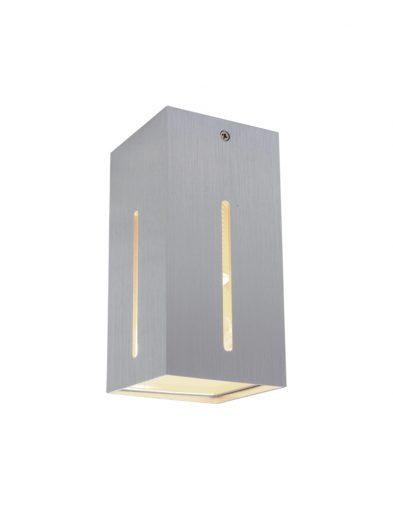 Stilvolle Wandleuchte LED Stahlfarben-1463ST