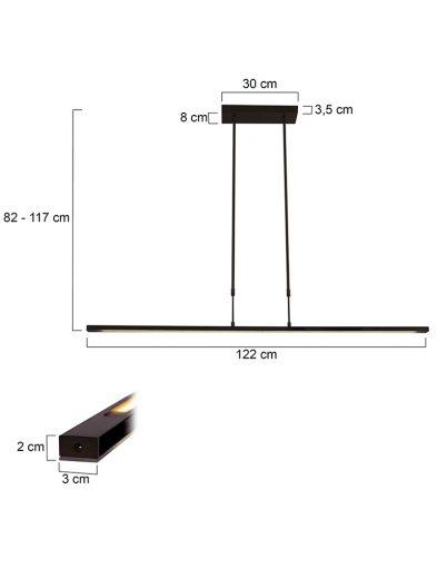 Stylische-LED-Pendelleuchte-Schwarz-1482ZW-4