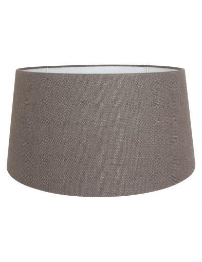 Taupe lampenschrim aus leinen-K1120LS