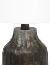 Tischlampe-aus-Metall-mit-Weiße-schirm-9289ZW-1