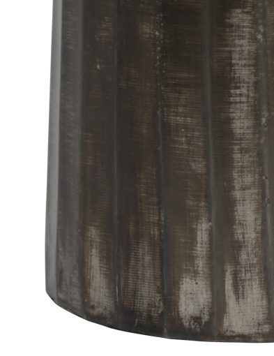 Tischlampe-aus-gebürstet-Metall-mit-Blaue-schirm-9288ZW-3