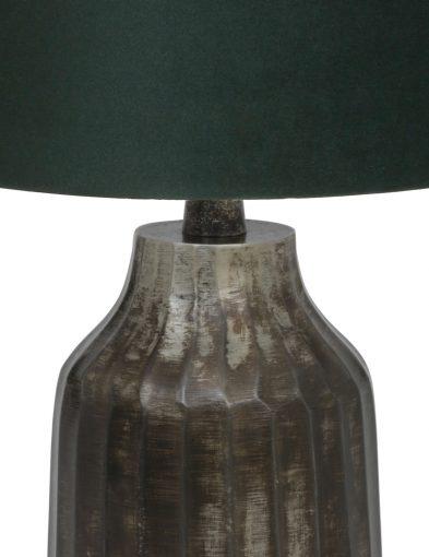 Tischlampe-aus-gebürstet-Metall-mit-Grün-schirm-9287ZW-1