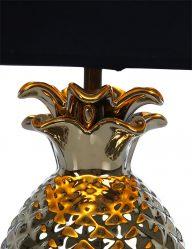 Tischleuchte-Ananas-mit-Schwarzem-Lampenschirm-1644GO-1