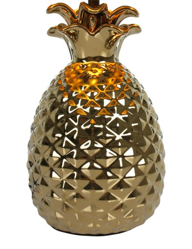 Tischleuchte-Ananas-mit-Schwarzem-Lampenschirm-1644GO-2