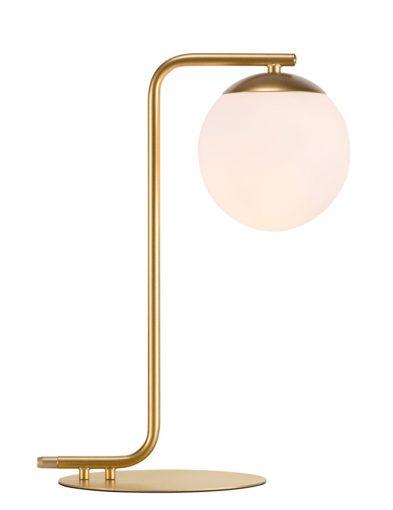 Tischleuchte kugel gold-2407ME