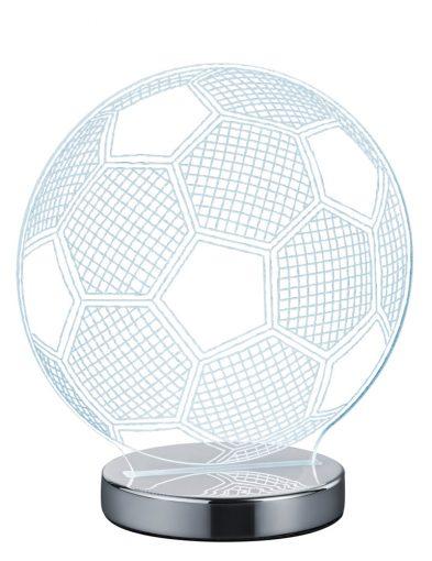 Transparente Fußballlampe-1846CH