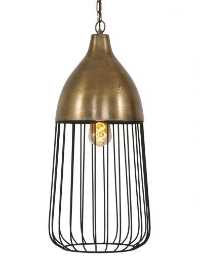 Verspielte Käfiglampe Bronze-1542BR