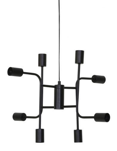Verspielte-Multi-Light-Hängelampe-Schwarz-2015ZW-1