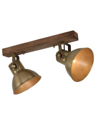 Vintage-2-flammige-Lampe-1379BR-1