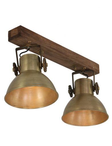 Vintage 2-flammige Lampe-1379BR