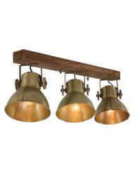 Vintage 3-flammige Lampe-1380BR