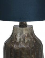 Vintage-Tischlampe-mit-Blaue-Schirm-9281ZW-1