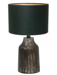 Vintage Tischlampe mit Güne Schirm-9280ZW