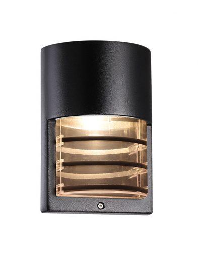 Wandlampe aluminium schwarz-2332ZW