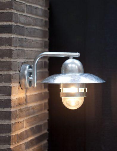 Wandlampe-außen-antik-stahl-2334ST-1