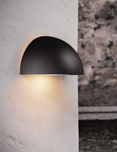 Wandlampe-außen-halbe-kugel-2335ZW-1