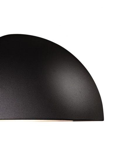 Wandlampe-außen-halbe-kugel-2335ZW-2