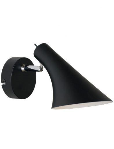 Wandleuchte design schwarz-2393ZW