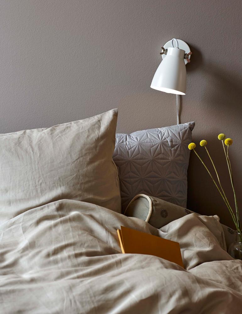 Wandleuchte schlafzimmer weiß Nordlux Largo - Vivaleuchten.de