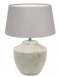Weiße Keramiklampe-9186W