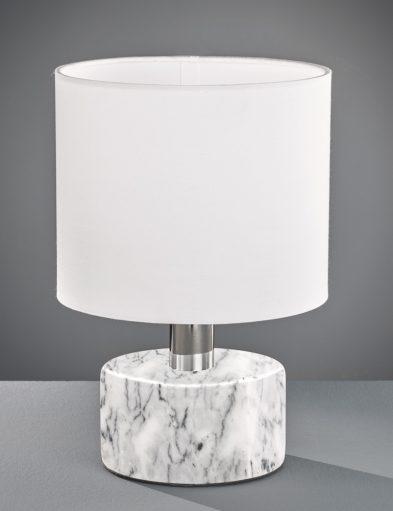 Weiße-Tischlampe-mit-Marmorsockel-1852W-1