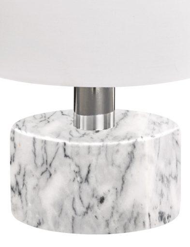 Weiße-Tischlampe-mit-Marmorsockel-1852W-3